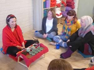 Meditation workshop, Edinburgh