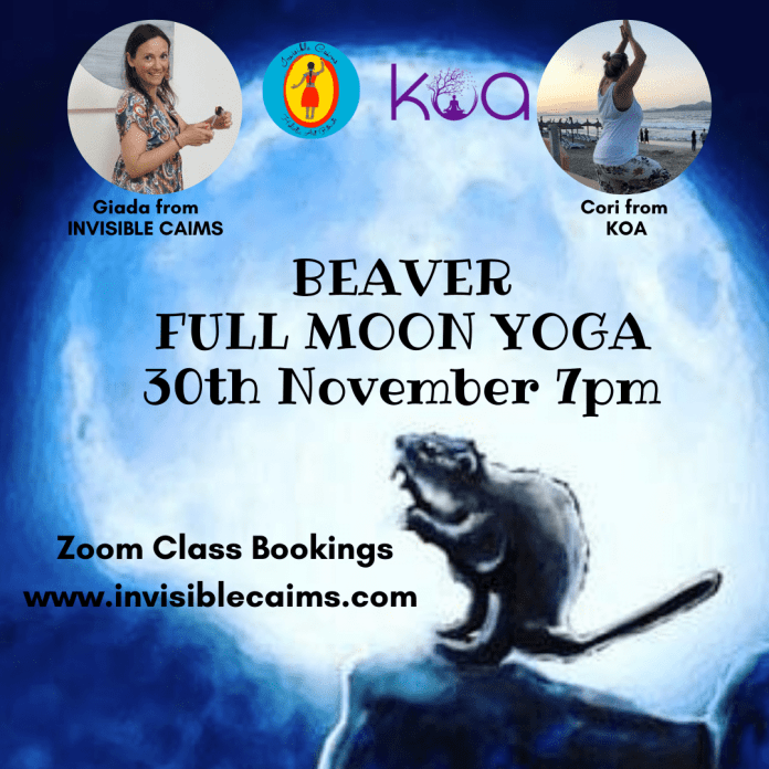 Beaver Full Moon Yoga