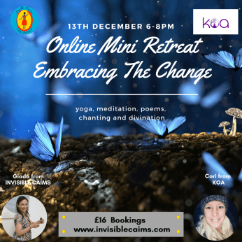 Mini Retreat: Embracing the Change - Yoga, Meditation, Divination