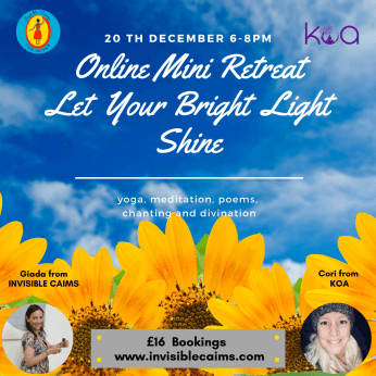 Mini Retreat: Let Your Bright Light Shine - Yoga, Meditation, Divination