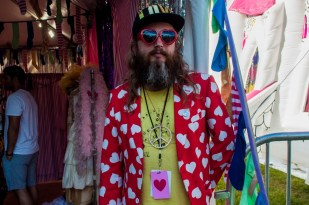 The guy behind Bestival's inflatable church