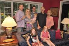 Anthony - family pic in Dallas