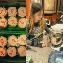 Melanie baking