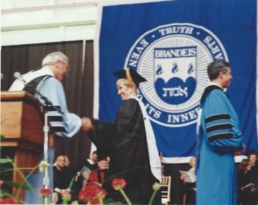 Bonnie Brandeis Graduation