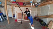 ene on garage ropes 2