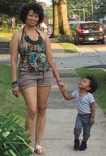 Deb and Grandson AJ