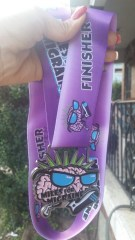 Medal from friends who ran for Deb