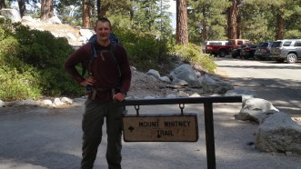 Beginning Mount Whitney