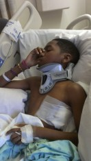Sellars in Hospital after Accident_Day 4_2014-03-31
