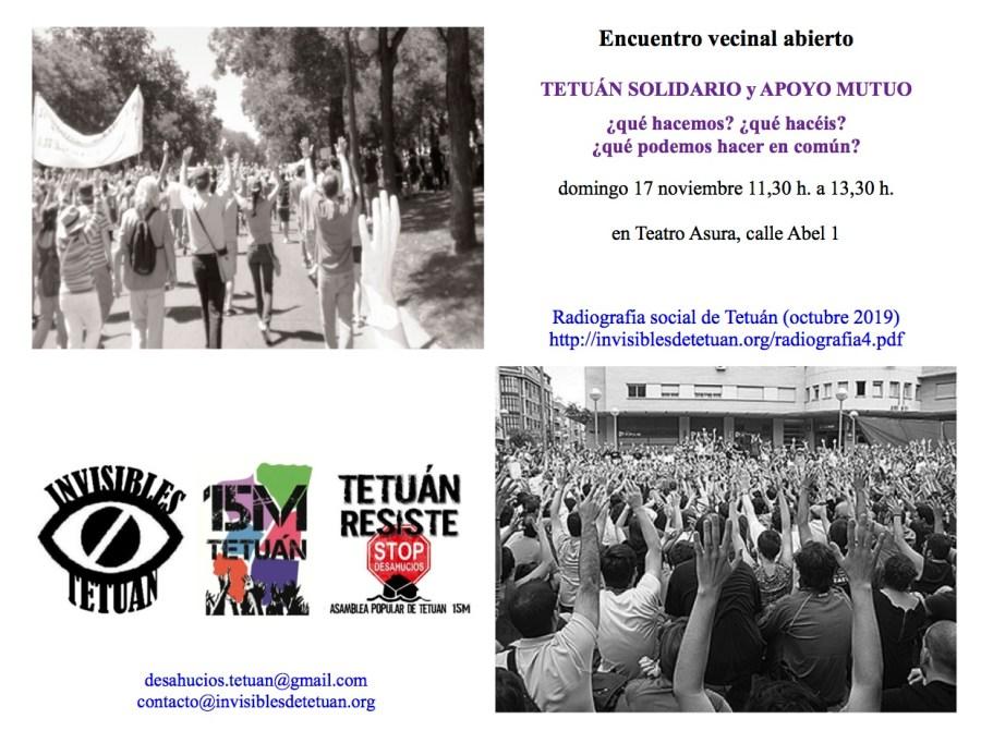 Invitación encuentro 17N