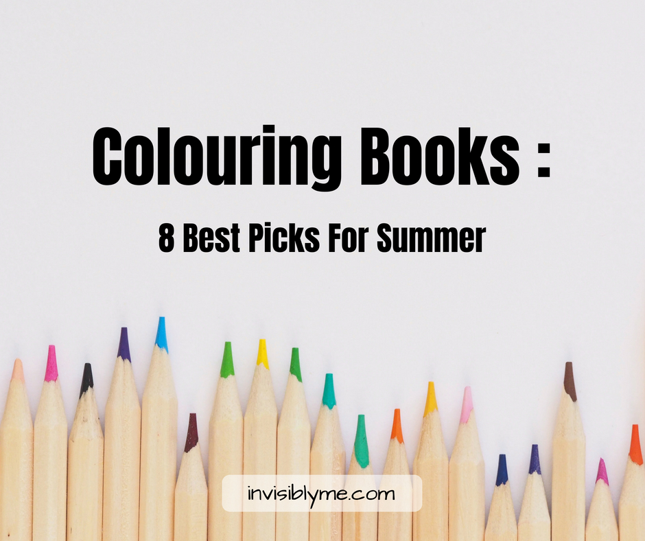 Adult Colouring Books : Summer's Best Picks