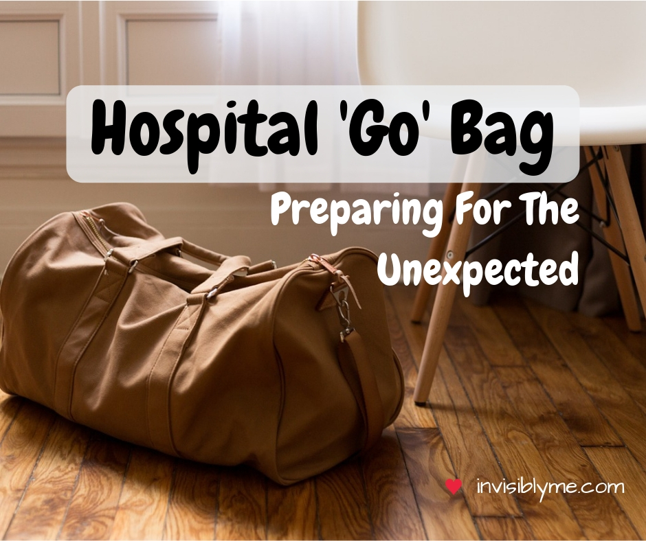 Go Bag : Preparing For The Unexpected