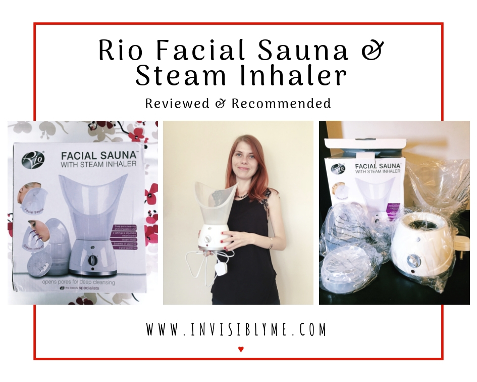 Rio Facial Sauna & Steam Inhaler : Reviewed & Recommended