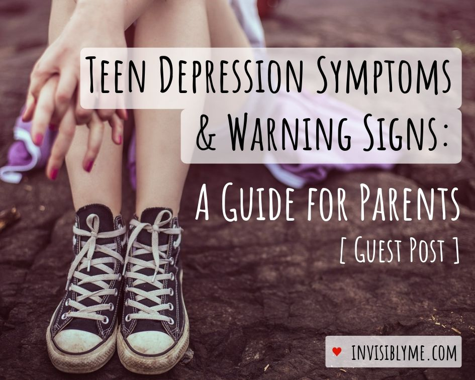 Teen Depression : A Guide For Parents [Guest Post]