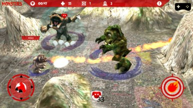 Monsters Multi-Player AR (Live Game Board) - 04