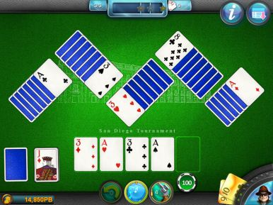Royal Flush Solitaire (iOS & Android) - 05