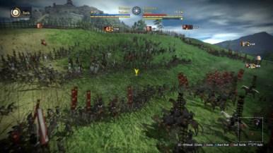 Skirmish Seige Moutain Castle