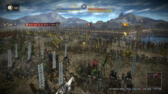 Skirmish Seige Plain Castle