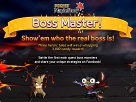Pocket MapleStory_Boss Master Event