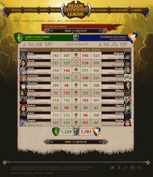 RAL 05 League-MatchUpPage