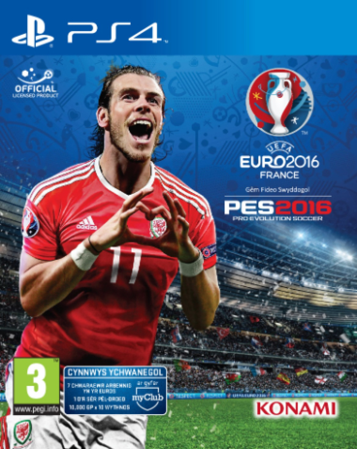 Promotional PES Euro 2016 Welsh Inlay