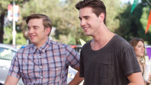 STANDOFF#50 - Chandler Massey and Ryan McCartan - Chris (Chandler Massey) and Farrell (Ryan McCartan) size up the competition.