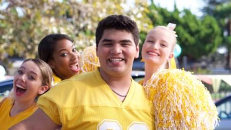 STANDOFF#8 - DANIEL VASQUEZ - Colby Mann (Daniel Vasquez) poses with his posse of cheerleaders.
