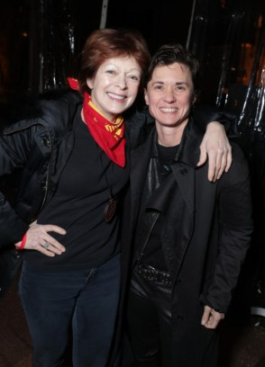 "Frances Fisher and Kimberly Peirce seen at Netflix's original documentary ""13TH"" reception hosted by Netflix Chief Content Officer Ted Sarandos and Ambassador Nicole Avant with a special conversation moderated by Oprah Winfrey with director Ava DuVernay and Van Jones] on Sunday, January 15, 2017, in Los Angeles, CA. (Photo by Eric Charbonneau/Invision for Netflix/AP Images)"