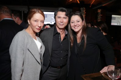 "Yvonne Boismier Phillips, Lou Diamond Phillips and Camryn Manheim seen at Netflix's original documentary ""13TH"" reception hosted by Netflix Chief Content Officer Ted Sarandos and Ambassador Nicole Avant with a special conversation moderated by Oprah Winfrey with director Ava DuVernay and Van Jones] on Sunday, January 15, 2017, in Los Angeles, CA. (Photo by Eric Charbonneau/Invision for Netflix/AP Images)"