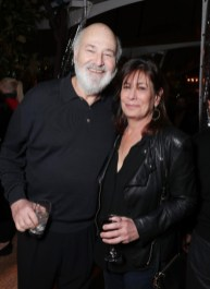 "Rob Reiner and Michele Singer Reiner seen at Netflix's original documentary ""13TH"" reception hosted by Netflix Chief Content Officer Ted Sarandos and Ambassador Nicole Avant with a special conversation moderated by Oprah Winfrey with director Ava DuVernay and Van Jones] on Sunday, January 15, 2017, in Los Angeles, CA. (Photo by Eric Charbonneau/Invision for Netflix/AP Images)"