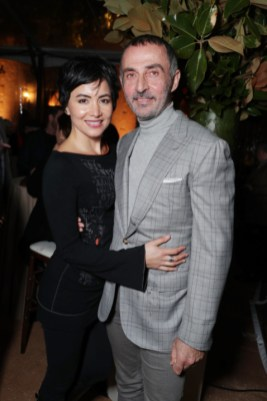 """Lorena Mendoza and Shaun Toub seen at Netflix's original documentary """"13TH"""" reception hosted by Netflix Chief Content Officer Ted Sarandos and Ambassador Nicole Avant with a special conversation moderated by Oprah Winfrey with director Ava DuVernay and Van Jones] on Sunday, January 15, 2017, in Los Angeles, CA. (Photo by Eric Charbonneau/Invision for Netflix/AP Images)"""