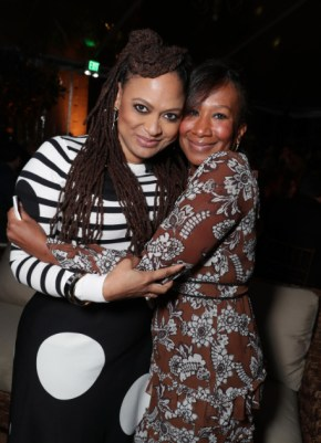 "Ava DuVernay and Ambassador Nicole Avant seen at Netflix's original documentary ""13TH"" reception hosted by Netflix Chief Content Officer Ted Sarandos and Ambassador Nicole Avant with a special conversation moderated by Oprah Winfrey with director Ava DuVernay and Van Jones] on Sunday, January 15, 2017, in Los Angeles, CA. (Photo by Eric Charbonneau/Invision for Netflix/AP Images)"