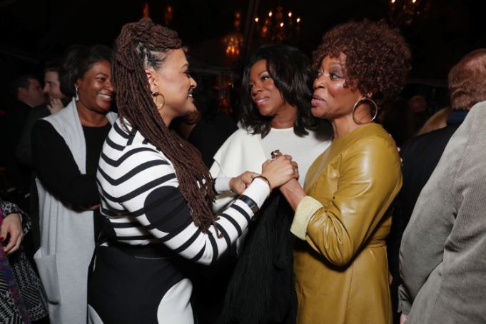 "Ava DuVernay and Lorraine Toussaint seen at Netflix's original documentary ""13TH"" reception hosted by Netflix Chief Content Officer Ted Sarandos and Ambassador Nicole Avant with a special conversation moderated by Oprah Winfrey with director Ava DuVernay and Van Jones] on Sunday, January 15, 2017, in Los Angeles, CA. (Photo by Eric Charbonneau/Invision for Netflix/AP Images)"