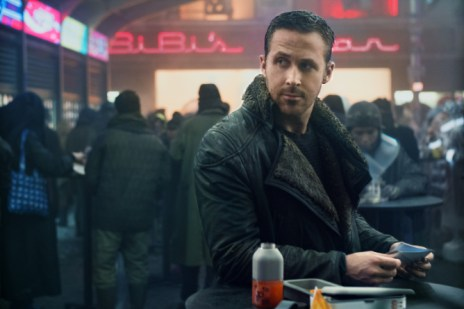 RYAN GOSLING as K in Alcon EntertainmentÕs sci fi thriller BLADE RUNNER 2049 in association with Columbia Pictures, domestic distribution by Warner Bros. Pictures and international distribution by Sony Pictures Releasing International.