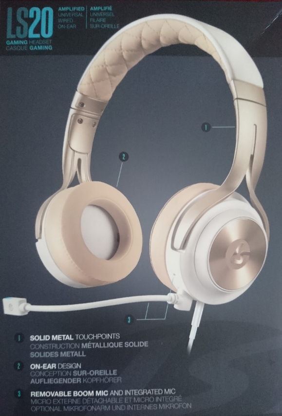 Solid Metal Touchpoints, On-Ear Design, Removable BOOM Mic.