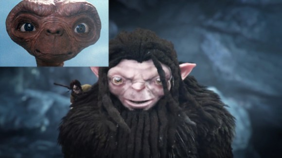 E.T with Hair and Ears
