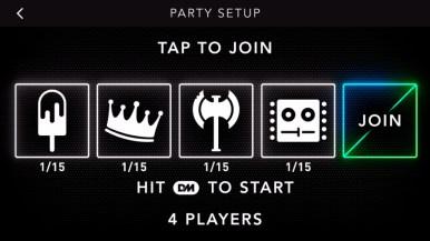 DropMix App Party Mode - Game Set Up