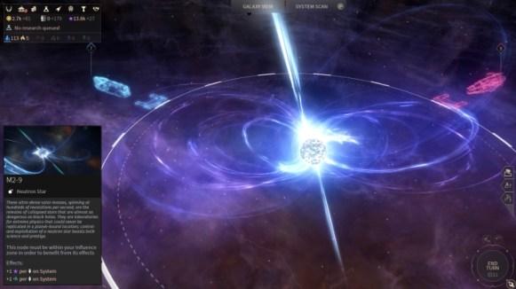 Endless Space 2 - Stellar Prisoner Update - Neutron Star Galaxy Map