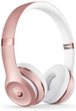 Beats by Dre Solo3 On-Ear Wireless Headphones - Rose Gold