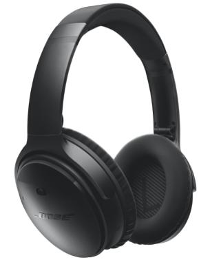Bose QuietComfort 35 Over- Ear Wireless Headphones - Black