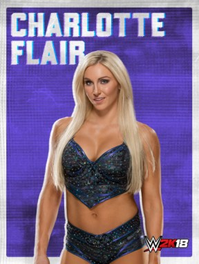 WWE2K18_ROSTER_CHARLOTTE FLAIR