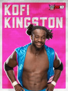 WWE2K18_ROSTER_Kofi Kingston