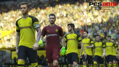 PES 2019 Borussia Dortmund_preview