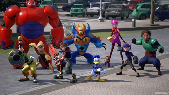 First Look At Kingdom Hearts Iii Big Hero 6 World Invision Game Community