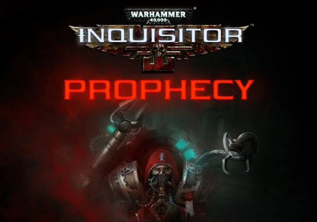 Warhammer 40,000 Inquisitor - Prophecy