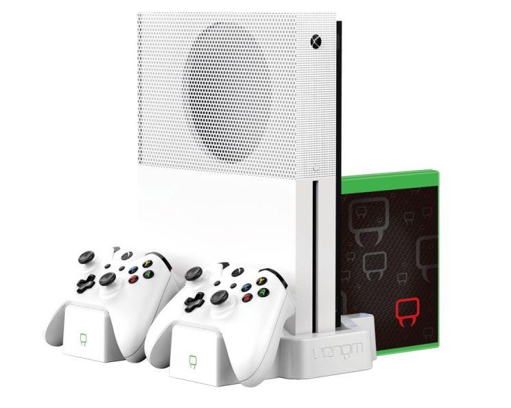 VS2862_Xbox One S_Vertical Charging Stand_White_Hardware_RGB_72DPI