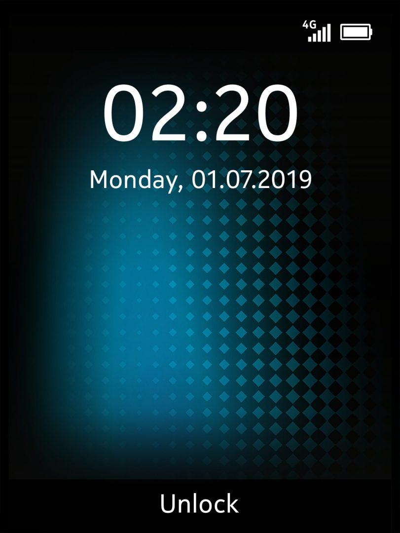 HMD Global_Nokia 220 4G_Screens_Blue_Lock_SS
