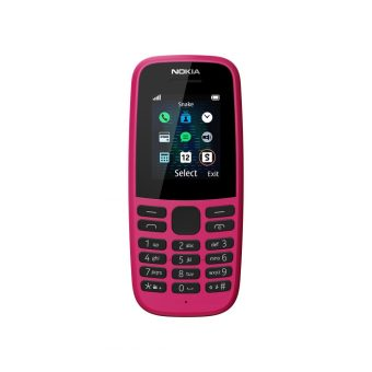 HMD_Nokia 105__Pink_SS_FRONT