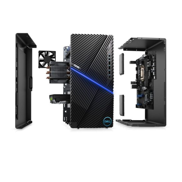 Dell G5 Desktop_exploded shot