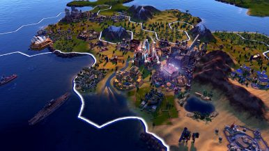 Civilization VI Console - America Atomic